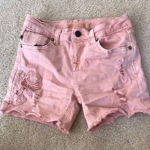 Girl's Pink Shorts